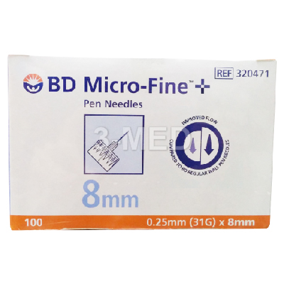 DB320471 - BD Micro-Fine Pen Needle 8mm